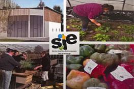 Un bâtiment au service de la Bio Solidarité SIE vals de saintonge